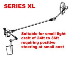 Mathway series XL steering
